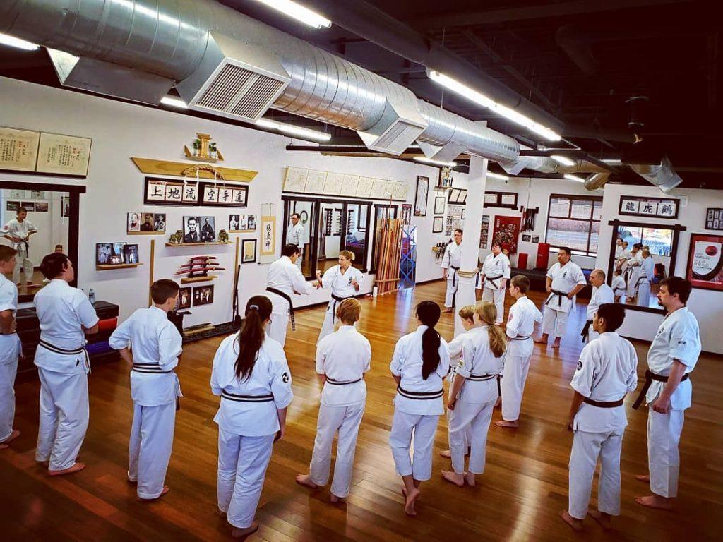 Bennett's Karate IUKF 2019 Seminar 1