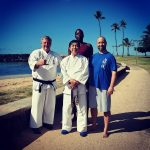 IUKF President, Darin Yee, with Al