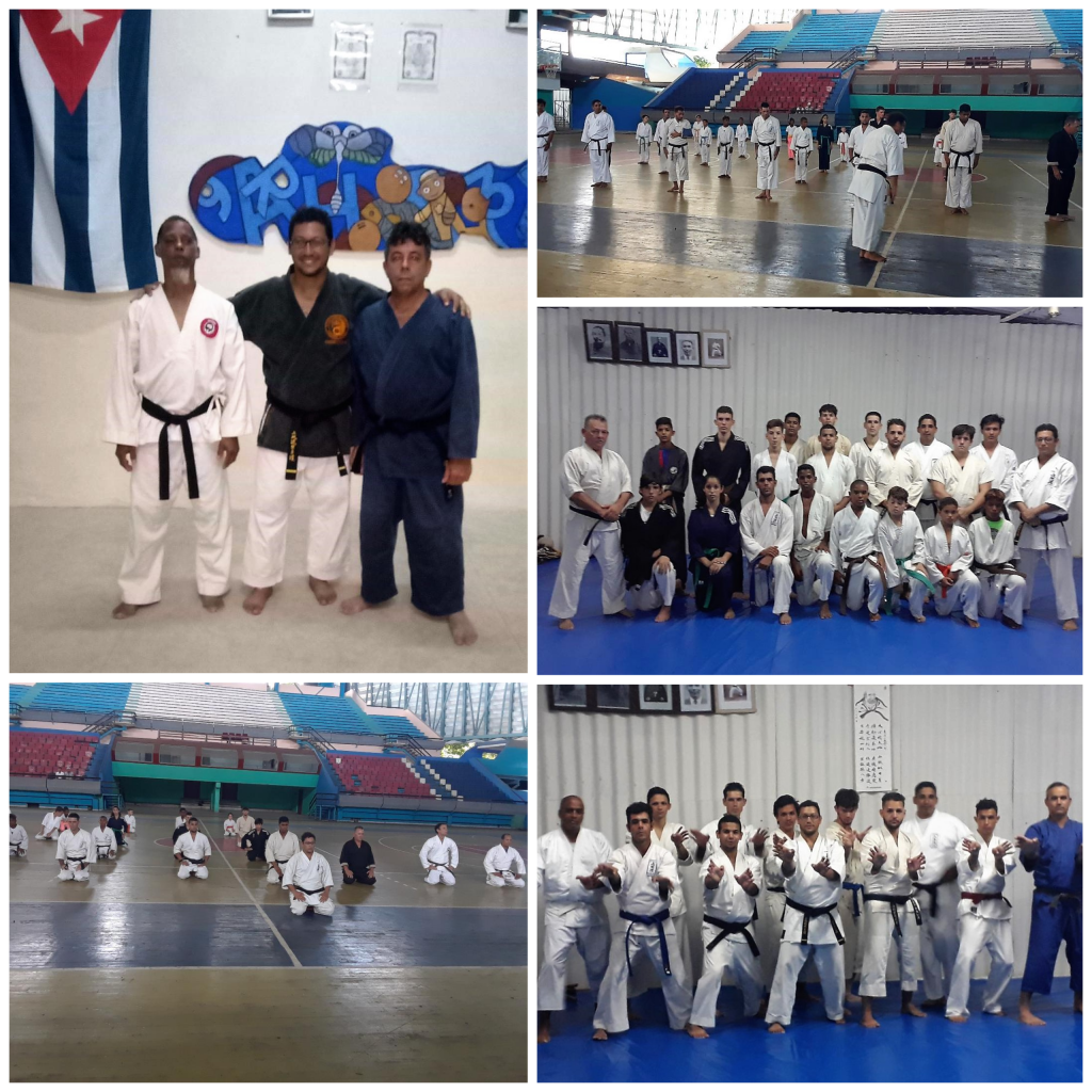 Collage of Students from Cuba