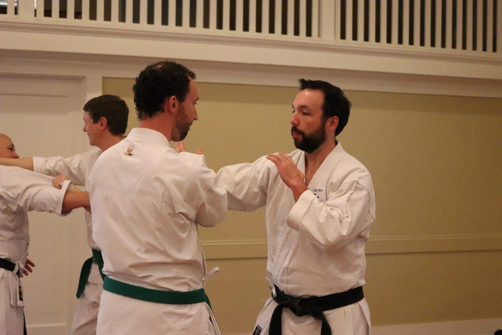 Practicing combat